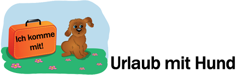 Hund in Urlaub Logo